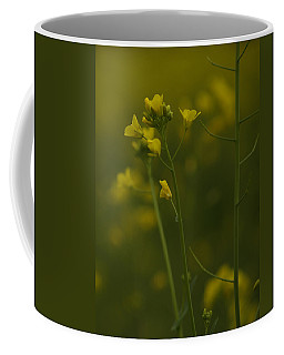 Coffee Mug featuring the photograph Wild Mustard by Bill Gallagher