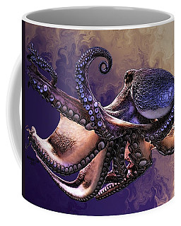 Wild Octopus Coffee Mug