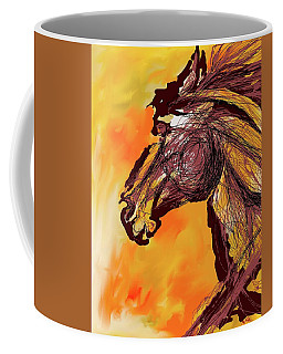 Wild One Coffee Mug by Mary Armstrong
