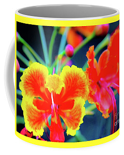 Coffee Mug featuring the photograph Wild Orchids In Hawaii by D Davila
