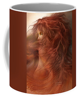 Wild Red Wind Coffee Mug