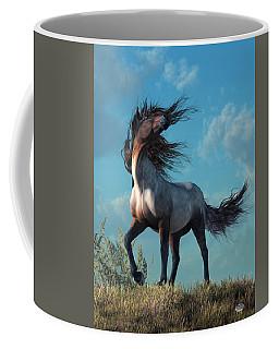 Wild Roan Coffee Mug by Daniel Eskridge
