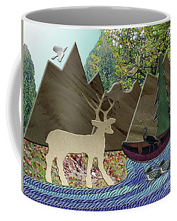 Wild Rural Animals Coffee Mug