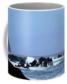 Wild Sea In Madeira Coffee Mug