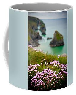 Wild Sea Pinks In Cornwall Coffee Mug
