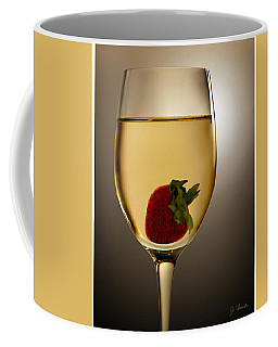 Coffee Mug featuring the photograph Wild Strawberry by Joe Bonita