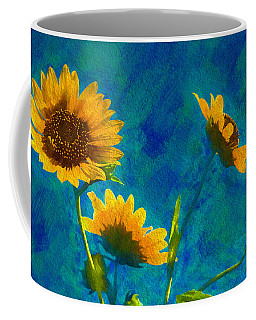 Wild Sunflowers Singing Coffee Mug