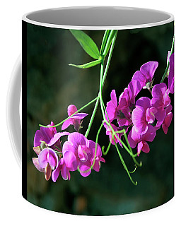 Wild Sweet Peas Coffee Mug by Greg Sigrist