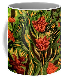 Wild Tulips Coffee Mug