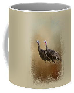 Wild Turkey At Shiloh Coffee Mug