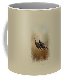 Wild Turkey At Shiloh Coffee Mug