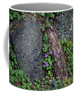 Wild Violets Coffee Mug