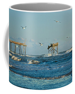 Wild Waves At Nags Head Coffee Mug