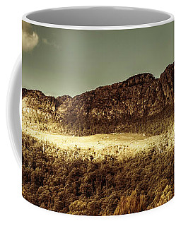 Wild West Mountain Panorama Coffee Mug