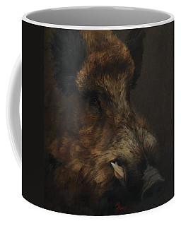 Wildboar Portrait Coffee Mug