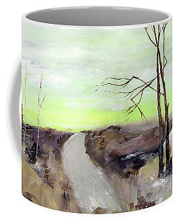 Coffee Mug featuring the painting Wilderness 2 by Anil Nene