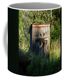 Wilderness Bathroom Coffee Mug