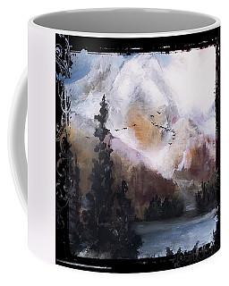Wilderness Mountain Landscape Coffee Mug