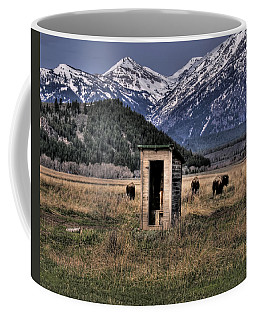 Wilderness Outhouse Coffee Mug