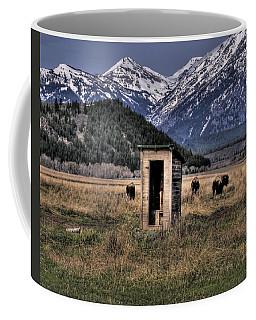 Wilderness Outhouse Coffee Mug