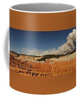 Wildfire Cedar Breaks National Monument Utah Coffee Mug