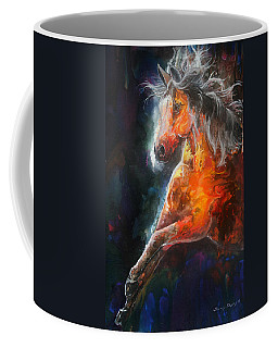 Wildfire Fire Horse Coffee Mug