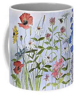 Wildflower And Blue Sky Coffee Mug