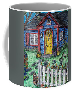 Wildflower Cottage Coffee Mug