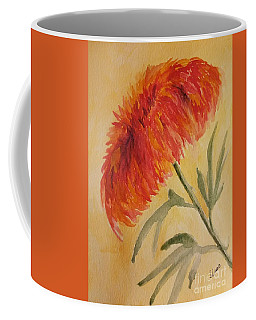 Coffee Mug featuring the painting Wildflower Glow by Maria Urso