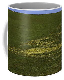 Wildflower Hillside Coffee Mug