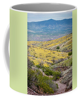 Wildflower Meadows Coffee Mug by Karen Stephenson