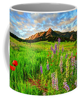 Wildflower Mix Coffee Mug by Scott Mahon