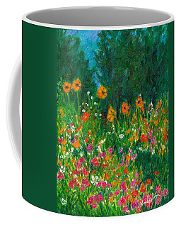 Wildflower Rush Coffee Mug by Kendall Kessler