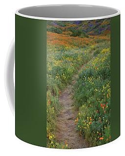 Wildflower Trail At Diamond Lake In California Coffee Mug