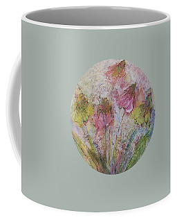 Coffee Mug featuring the painting Wildflowers 2 by Mary Wolf