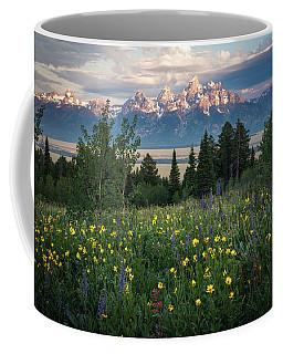 Wildflowers At Grand Teton National Park Coffee Mug