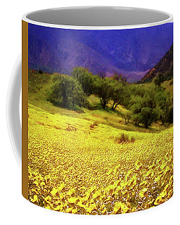 Wildflowers In The San Emigdio Mountains Coffee Mug