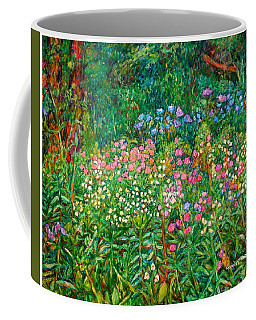 Coffee Mug featuring the painting Wildflowers Near Fancy Gap by Kendall Kessler