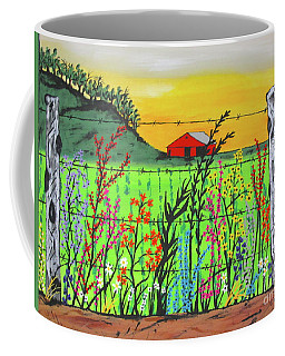 Wildflowers On The Farm Coffee Mug
