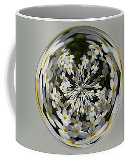 Coffee Mug featuring the photograph Wildflowers Orb by Bill Barber