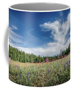 Wildflowers Reach For The Sky Coffee Mug