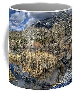 Wildlife Water Hole Coffee Mug by Alan Toepfer