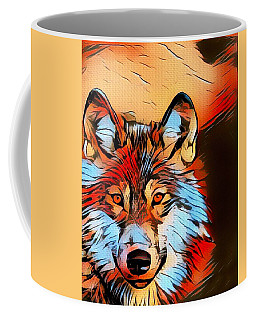 Wildlife Wolf 1 Coffee Mug