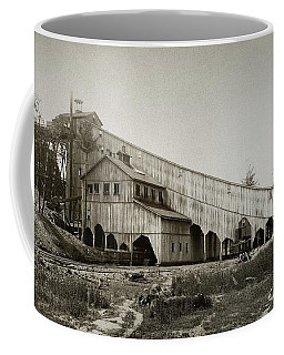 Wilkes Barre Twp Pa Empire Number 5 Coal Breaker 1880 Lehigh And Wb Coal Co. Coffee Mug