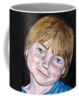 Coffee Mug featuring the painting Will by Jean Haynes