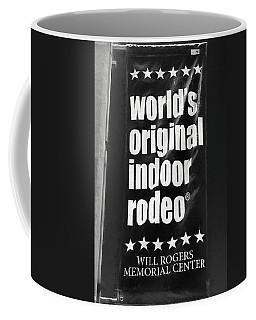 Will Rogers Rodeo Bw Coffee Mug