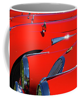 Coffee Mug featuring the photograph Will The Owner Of The Red Car by John Schneider