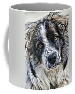 Will You Be My Friend Coffee Mug by Rhonda McDougall
