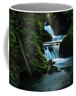 Coffee Mug featuring the photograph Lush Willaby  by Expressive Landscapes Fine Art Photography by Thom
