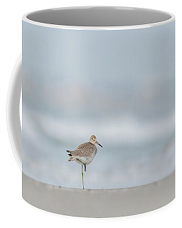 Willet On One Leg Coffee Mug